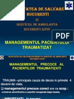 5. Managementul Pacientului Politraumatizat