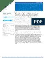 Moody's - PA Intercept Programs