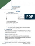 VI Estruct. III Silabus 2012 10