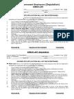 Admission Form Deputation 2016