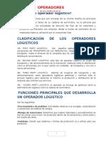 Resumen Operador Logistico