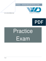 WDCertified_PracticeExam