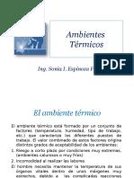 10- AMBIENTES TÉRMICOS
