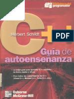 C++ Guia de Autoenseñanza