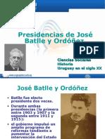 Presidencias de Batlle y Ordóñez
