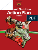 KENYA 2012 National Nutrition Action Plan 2012 - 2017