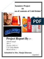 115018547 CBSE XII Chemistry Project Determination of the Contents of Cold Drinks 1 1 1 3