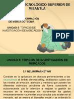Unidad v Topicos de Investigacion de Mercados