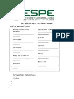 4. Formato Informe de La Práctica Profesional. (1)
