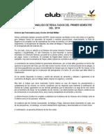 Analisis Primer Semestre 2014
