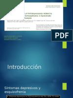 eficacia y seguridad de los antidepresivos sumado al tto con antipsicoticos en eqz