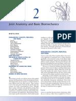 Biomecanica_Kinematics - Joint Anatomy and Basic Biomechanics