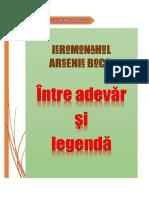 Ierom. Arsenie Boca - Intre Adevar Si Legenda, Arhiep. Argesului Si Muscelului