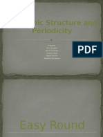 Electronic Structure and Periodicity