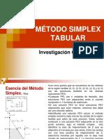 0 04 Mtodo Simplex Tabular
