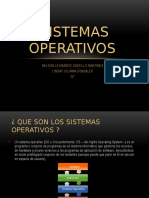 Sistemas Operativos LINDAY
