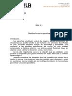 Guía N°1 Clasificación Parasitaria