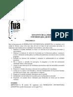 Estatuto FUA 1