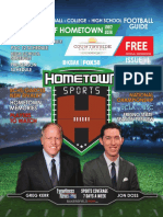 Hometown Sports football guide
