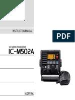 Icom IC-M502A VHF Marine Transceiver WW