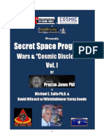 "Secret Space Programs,  Wars & ""Cosmic Disclosure - Vol. 1"
