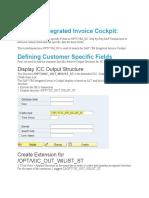 SAP VIM Integrated Invoice Cockpit