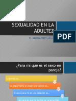 Sexualiddad en La Adultez