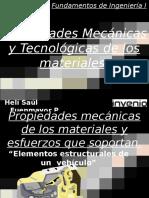 Propiedades Mecánicas de Los Materiales 1
