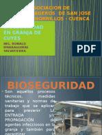 Bioseguridad en Granja de Cuyes