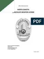 North Dakota CW Manual