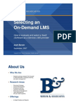 RP_Selecting an OnDemand LMS - How to Evaluate and Select a SaaS LMS Provider_Bersin & Associates_67pg