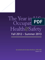 The Year in U.S. Occupational Health & Safety 2013