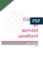 Carta Dei Servizi Sanitari - ASL Bari