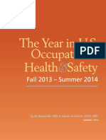 The Year in U.S. Occupational Health and Safety 2014