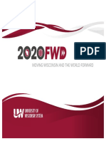 2020FWD, UW System's Strategic Framework