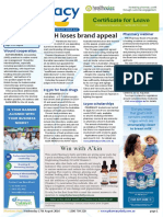 Pharmacy Daily for Wed 17 Aug 2016 - CWH loses brand appeal, $153m for back drugs, $2500 scholarships, Health AMPERSAND Beauty and much more