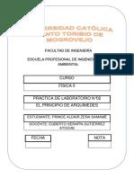 PRACTICA DE LABORATORIO N°02-FÍSICA II