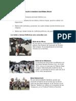 Bailes o Danzas Guatemaltecas