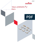 Murata Products Crystal Filters P51e