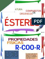 Nomenclatura de Compuestos Organicos-esteres