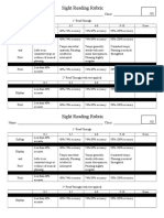 Melodic Sight Reading With Text Rubric