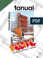 Formwork Manual OV