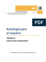 Modulo 2 Antologia Para El Maestro