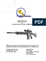 Armalite AR 10 Rifle Manual