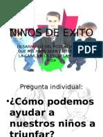 NIÑOS DE EXITO