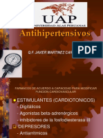 Clase Antihipertensivos