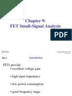 CH09 FET Small Signal Ana