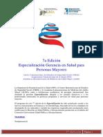 Especialización Gerencia en Salud Para