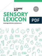 WCR Sensory Lexicon Edition 1.1 2016