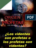 01 El Origen de Los Profetas